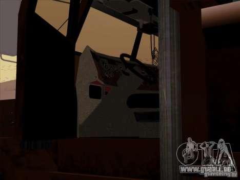 New Flatbed für GTA San Andreas Seitenansicht