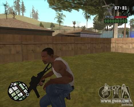 Ump 45 v 2.0 pour GTA San Andreas deuxième écran