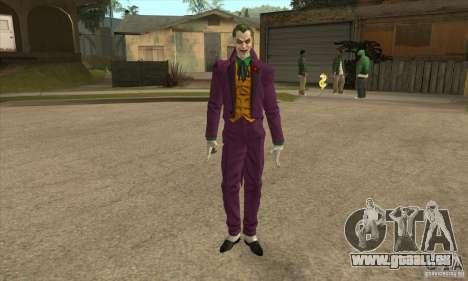 HQ Joker Skin pour GTA San Andreas