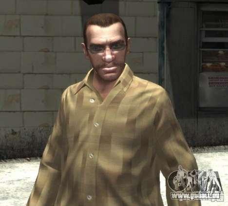 Nouvelles lunettes pour Niko-lumineux pour GTA 4