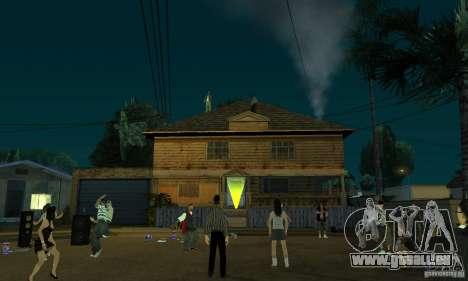 Projekt x an der Grove Street für GTA San Andreas her Screenshot