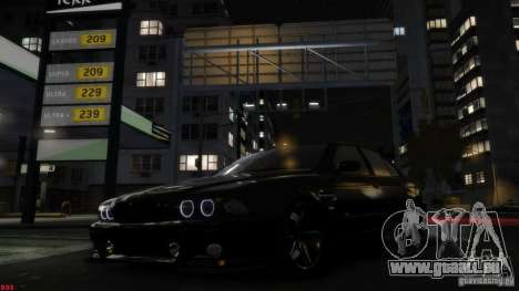 BMW M5 E39 AC Schnitzer Type II v1.0 pour GTA 4 Vue arrière de la gauche