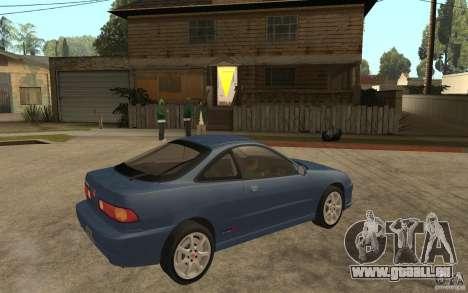 Honda Integra Type-R (Stock) für GTA San Andreas rechten Ansicht