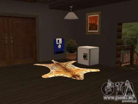 Villa neuve pour CJ pour GTA San Andreas quatrième écran