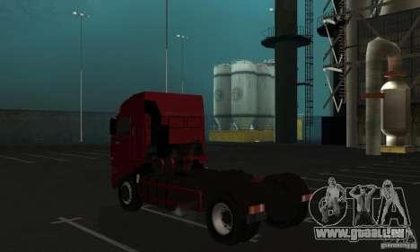KAMAZ 5460 peau 1 pour GTA San Andreas vue de droite