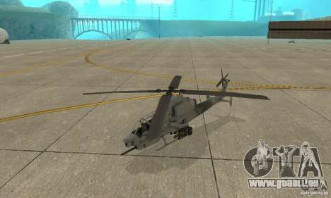 Hunter - AH-1Z Cobra für GTA San Andreas