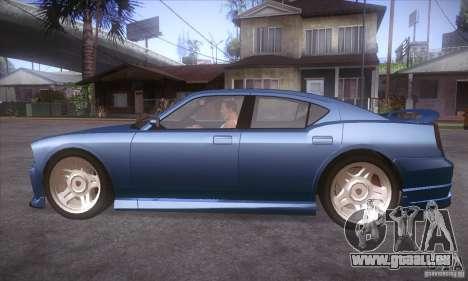 GTA IV Buffalo für GTA San Andreas linke Ansicht