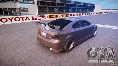 Toyota Scion TC 2.4 Tuning Edition für GTA 4 obere Ansicht