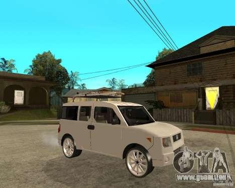 Honda Element pour GTA San Andreas vue de droite