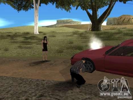 Voyage sur la route pour GTA San Andreas troisième écran