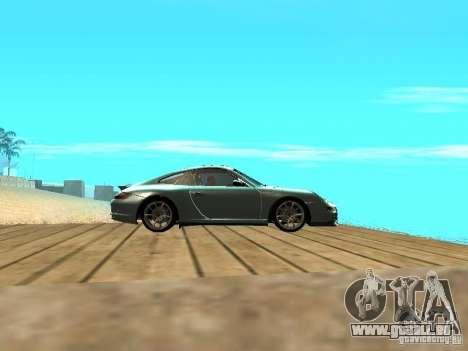 Porsche 997 GT3 RS pour GTA San Andreas vue intérieure