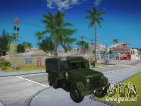 AM General M35A2 pour GTA San Andreas vue arrière