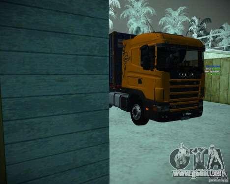 Scania 164L pour GTA San Andreas laissé vue