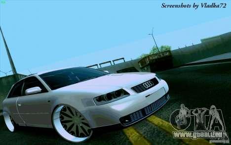 Audi A3 DUB Edition für GTA San Andreas