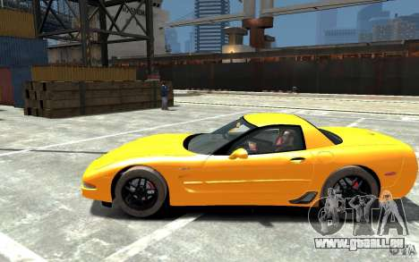 Chevrolet Corvette C5 2005 pour GTA 4 est une gauche