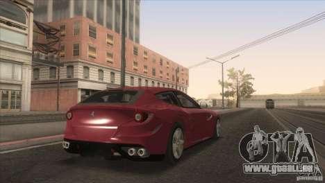 Ferrari FF 2011 V1.0 pour GTA San Andreas vue de dessous