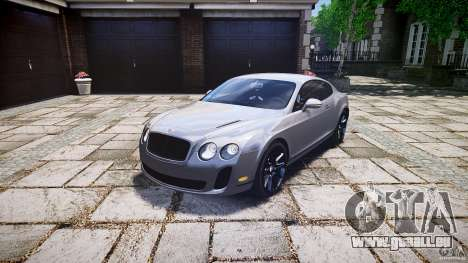 Bentley Continental SuperSports 2010 [EPM] pour GTA 4