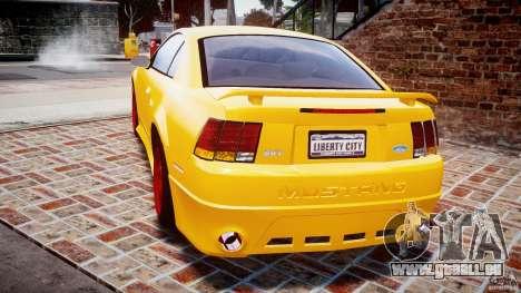 Ford Mustang SVT Cobra v1.0 für GTA 4 hinten links Ansicht