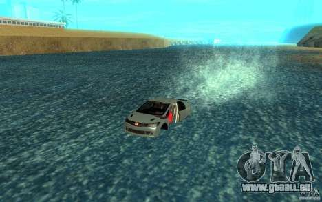 Honda Civic Mugen RR Boat pour GTA San Andreas