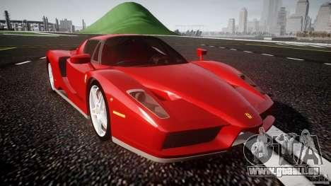 Ferrari Enzo für GTA 4 Innenansicht