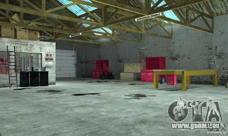 GTA SA Enterable Buildings Mod für GTA San Andreas dritten Screenshot