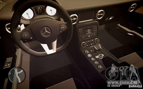 Mercedes-Benz SLS63 AMG pour GTA 4 Vue arrière de la gauche