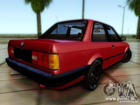 BMW E30 für GTA San Andreas linke Ansicht