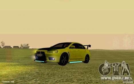 Mitsubishi Lancer Evolution Drift für GTA San Andreas