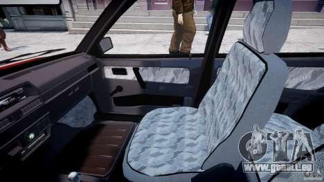 VAZ-21093i für GTA 4 Innenansicht