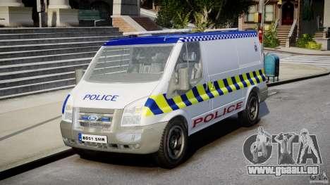 Ford Transit Polish Police [ELS] pour GTA 4