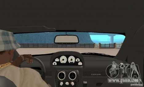 Panoz Esperante GTLM 2005 pour GTA San Andreas vue arrière
