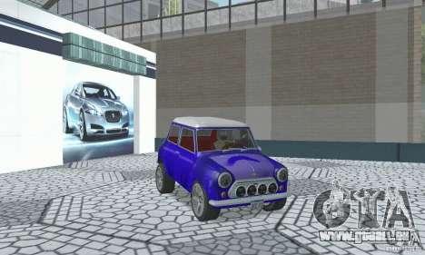 Mini Cooper S für GTA San Andreas Innenansicht