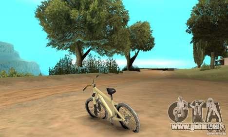 Specialized P.3 Mountain Bike v 0.8 pour GTA San Andreas sur la vue arrière gauche
