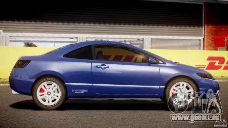 Honda Civic Si Coupe 2006 v1.0 pour GTA 4 est une vue de l'intérieur