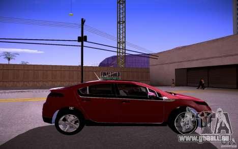 Chevrolet Volt pour GTA San Andreas vue de droite