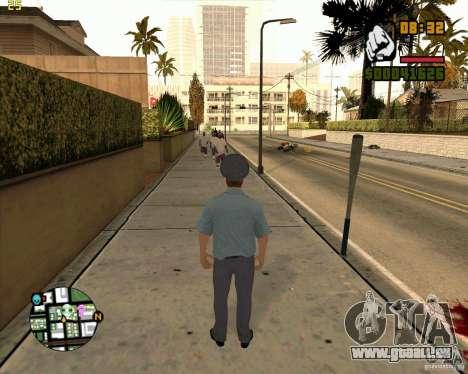 Russische Polizei Haut für GTA San Andreas her Screenshot