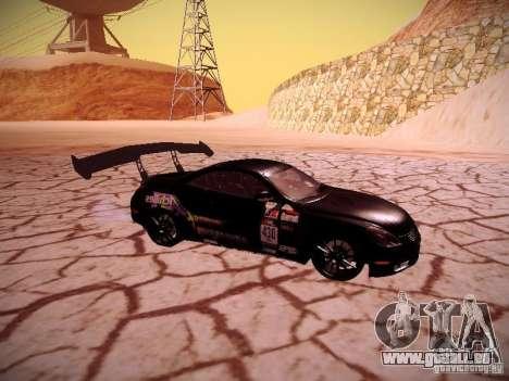 Lexus SC430 Daigo Saito für GTA San Andreas rechten Ansicht