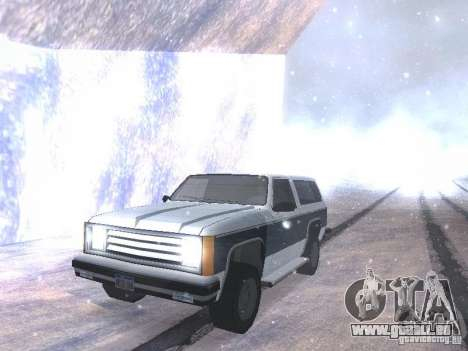 Snow MOD HQ V2.0 pour GTA San Andreas sixième écran