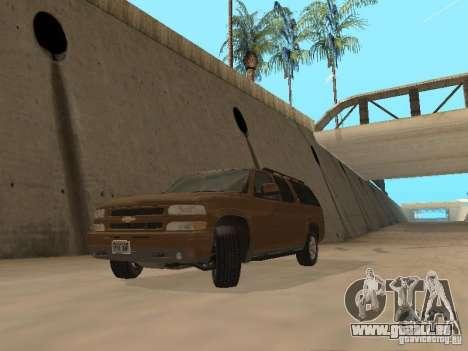 Chevrolet Suburban 2003 pour GTA San Andreas