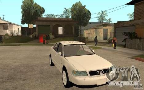 Audi A8 4.8L 2000 für GTA San Andreas Rückansicht