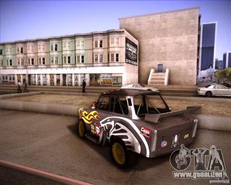 Trabant drag pour GTA San Andreas laissé vue