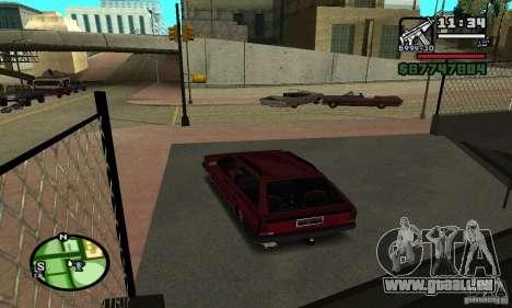 Volkswagen Parati GL 1995 pour GTA San Andreas laissé vue