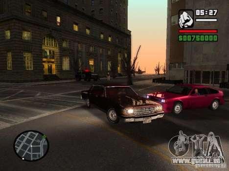 Chevrolet Caprice Classic 87 pour GTA San Andreas vue de droite