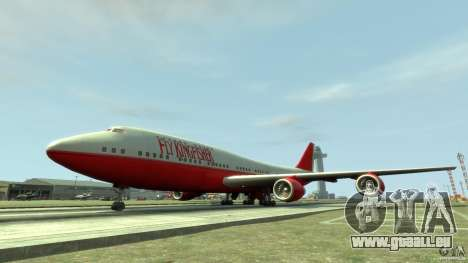 Fly Kingfisher Airplanes witout logo pour GTA 4