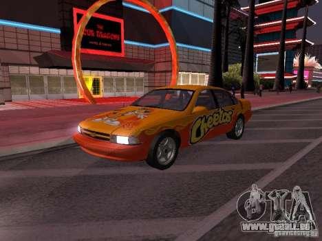 Chevrolet Impala SS 1995 pour GTA San Andreas roue