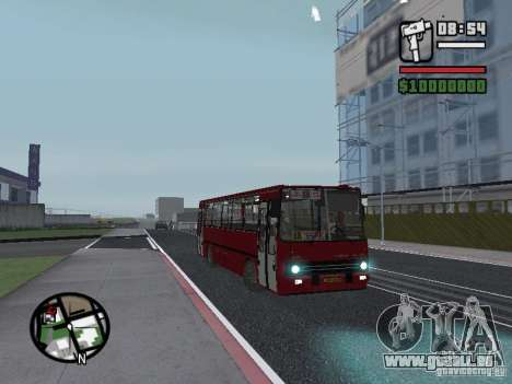 Ikarus 260.51 pour GTA San Andreas