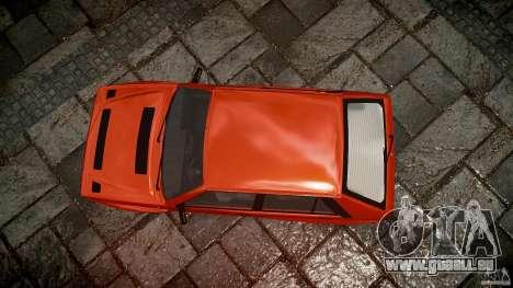 Lancia Delta HF 4WD pour GTA 4 vue de dessus