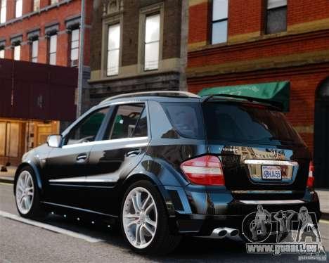 Mercedes-Benz ML Brabus 2009 für GTA 4 linke Ansicht