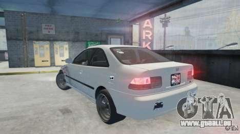 Honda Civic Si 1999 JDM [EPM] für GTA 4 linke Ansicht