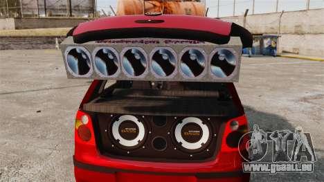 Volkswagen Polo Edit pour GTA 4 est un côté